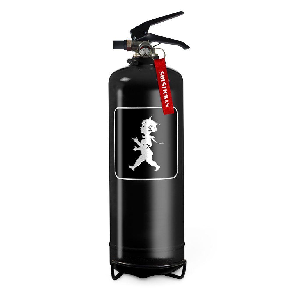 Brandsläckare - Svart