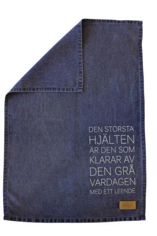 Kökshandduk Största hjälten ERNST - Blå