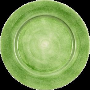 Grön tallrik 21cm