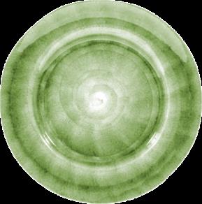 Grön Tallrik Mateus 28cm