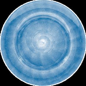 Ljusblå tallrik 21cm