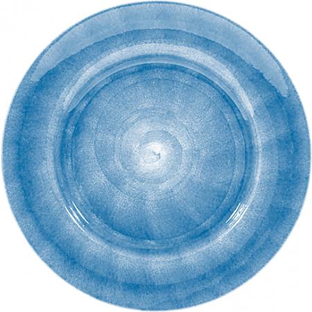 Ljusblå Tallrik 25cm Mateus