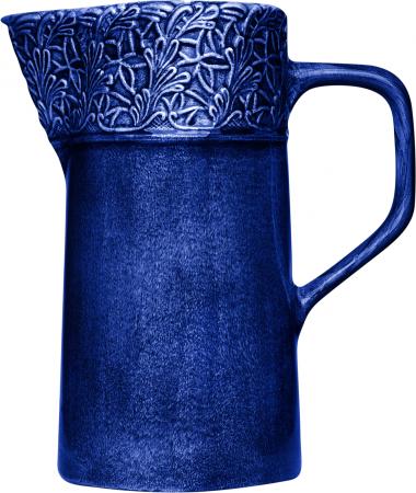 Blå spets kanna 120cl Mateus