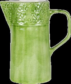 Grön spets kanna 120cl Mateus
