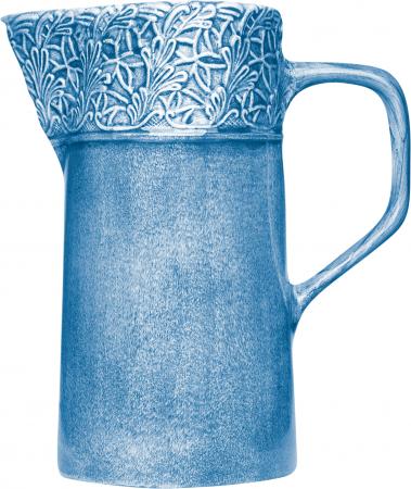 Ljusblå spets kanna 120cl Mateus