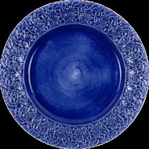 Blå spets tallrik 25cm