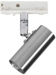 S 6849 Spot alu för skena D-33 mini LED