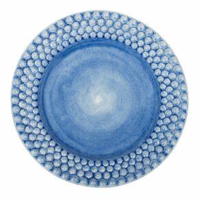 Ljusblå Bubbles Tallrik Mateus 28cm