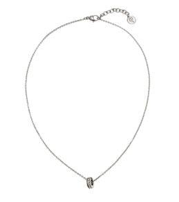 Isa Necklace Short Steel PG 4