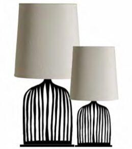 Lampskärm Liten, oval Vit Ø22×8, h23