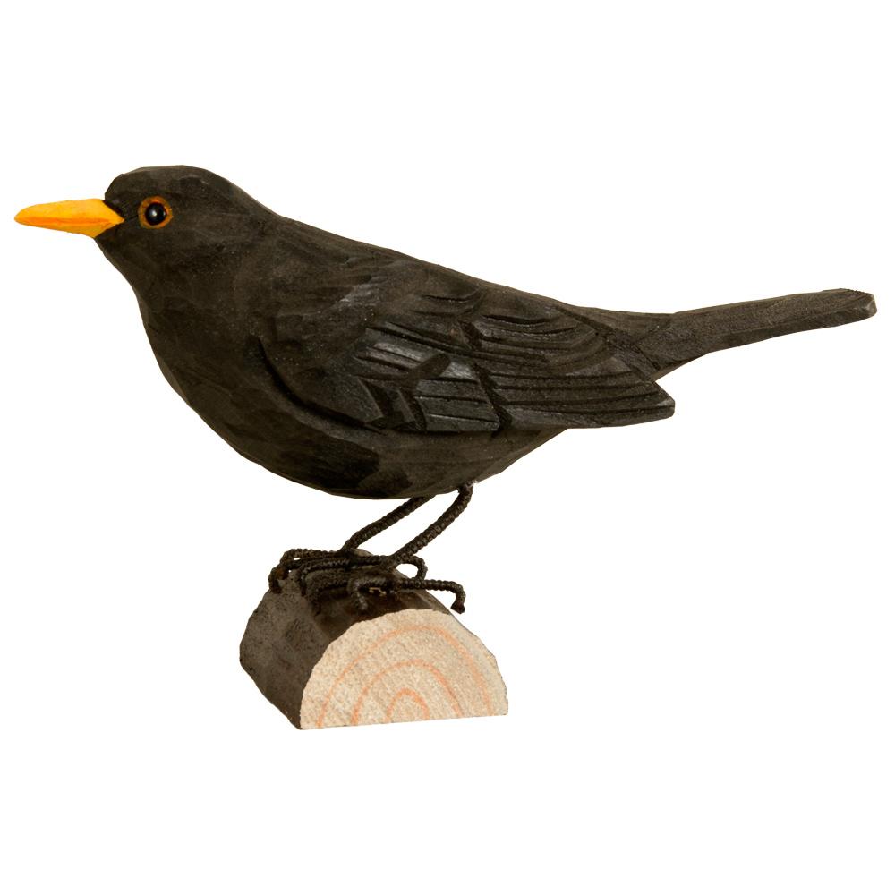 Koltrast DecoBird - Trä