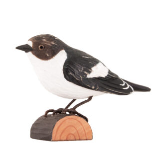 DecoBird Svartvit Flugsnappare