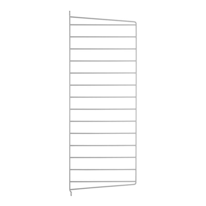 Stringhylla grå väggavel 1-pack 75X30
