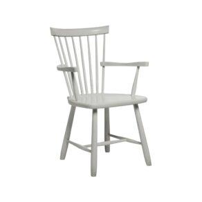 Lilla Åland karmstol grå bets 51