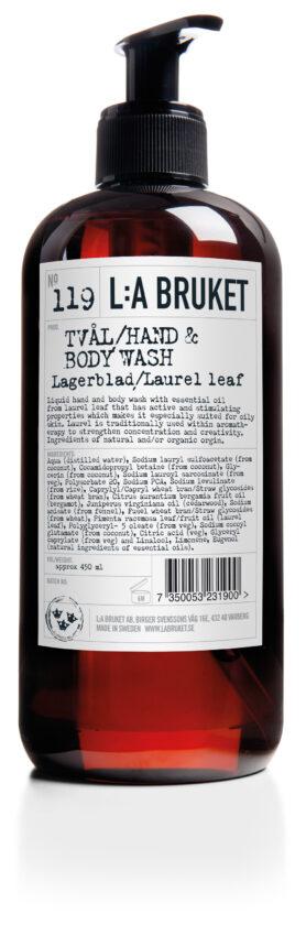 Flytande Tvål Lagerblad L:A Bruket