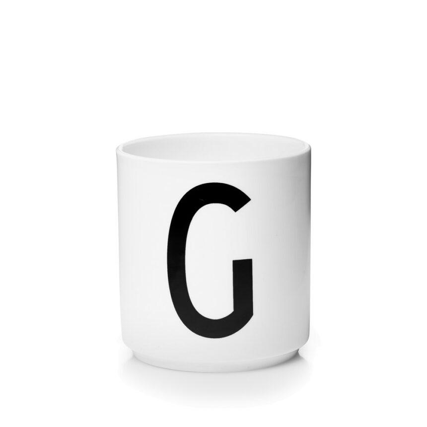 Design Letters G Porslin Mugg Arne Jacobsen