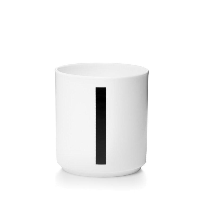 Design Letters I Porslin Mugg Arne Jacobsen