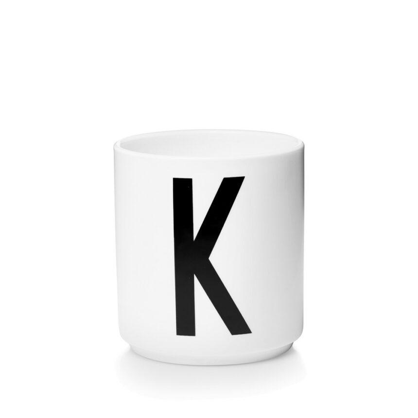 Design Letters K Porslin Mugg Arne Jacobsen