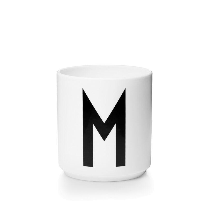 Design Letters M Porslin Mugg Arne Jacobsen