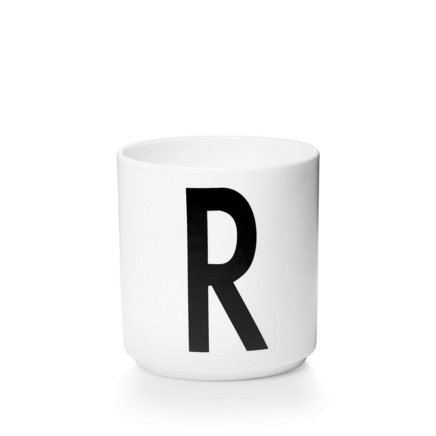 Design Letters R Porslin Mugg Arne Jacobsen