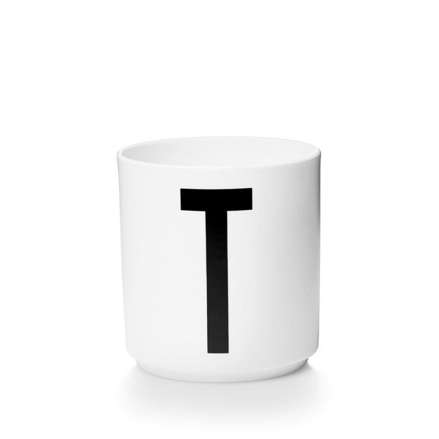 Design Letters T Porslin Mugg Arne Jacobsen