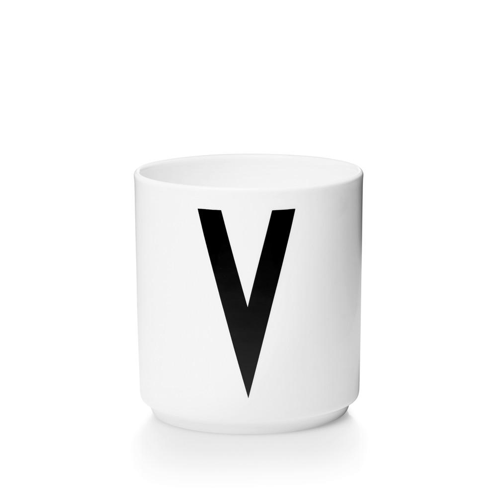 Design Letters V Porslin Mugg Arne Jacobsen