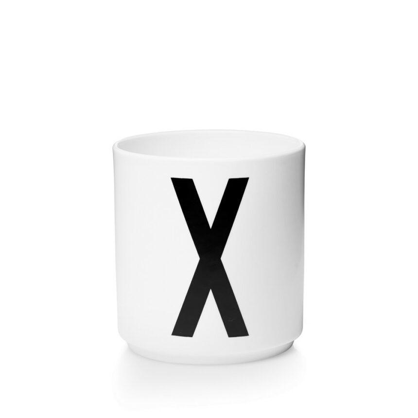 Design Letters X Porslin Mugg Arne Jacobsen