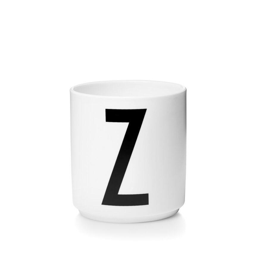 Design Letters Z Porslin Mugg Arne Jacobsen