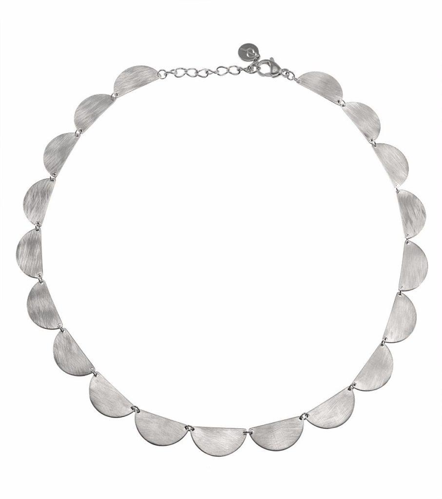 Hem Accessoarer Smycken Halsband Crescent necklace multi steel Edblad 4c7bb71eea51c