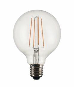 Vintage LED GlobeFilament 95mm Clear