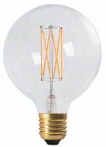 Vintage LED Filament Globe 125mm 4w