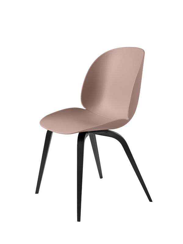 Beetle Chair Gubi Svartbetsad Bokstativ