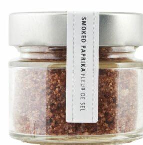 Salt, Fleur de sel smoked paprika 80g