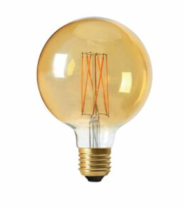 Elect LED Filament Globe 95mm, 2,5Wgold