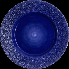 Blå spets fat 42cm