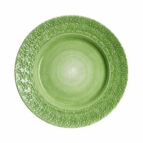 Grön spets fat 42cm