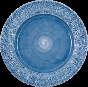 Ljusblå spets fat 42cm