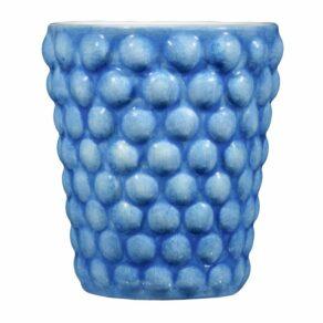 Ljusblå Bubbles mugg, 30cl