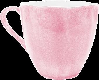 Ljusrosa Organic kaffemugg 60cl