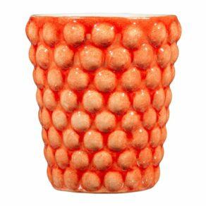 Orange Bubbles mugg, 30cl