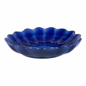 Blå ostronskål mellan 24cm
