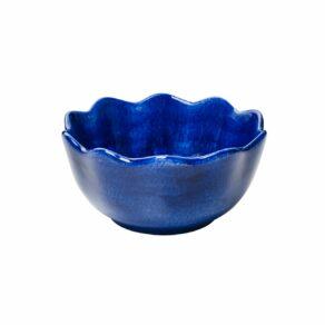 Blå ostronskål mini 13cm