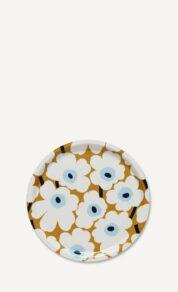Mini Unikko tray 31 cm beige/wh/blue