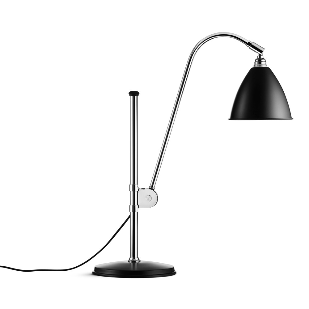 Gubi Bordslampa Bestlite BL1 svart/krom