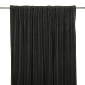 Gardin Velvet Svart 280 cm