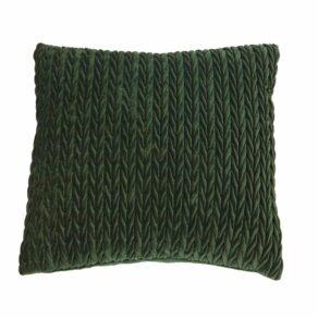 FANCY kuddfodral grön