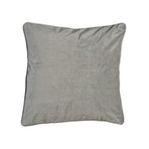 Velvet kuddfodral lj.grå