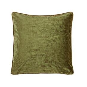 Kuddfodral Velvet Oliv