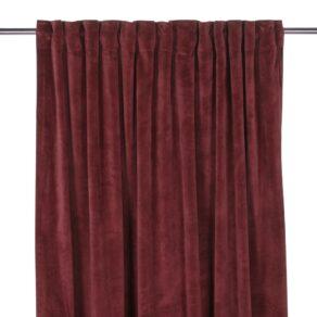 Gardin Velvet Vin 280 cm