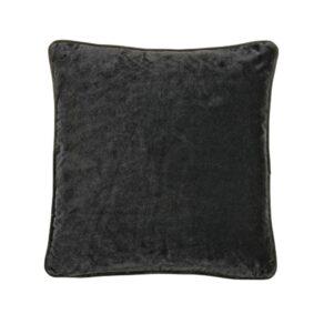 velvet kuddfodral svart